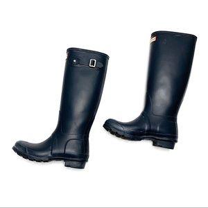 Hunter Rain Boots Size 6 Tall (N14)